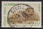 Sellos de Africa - Camerún -  Camerun 1964 Scott 397 Sello º Fauna Leon Parque Nacional de Waza Cameroun