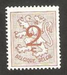 Sellos de Europa - Bélgica -  1026 A - león heráldico