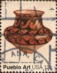 Sellos de America - Estados Unidos -  Arte Pueblo. San Ildefonso. Museo de Arte de Denver.