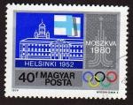 Sellos de Europa - Hungría -  Helsinski 1952