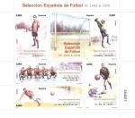 Sellos del Mundo : Europa : España : Selección española de fútbol años 1900 a 1970