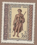 Sellos de Europa - Austria -  centenario del  Museo de Carintia