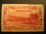 Stamps : Asia : Turkey :  Vista general de puerto. Piastres
