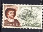 Sellos de Europa - España -  E2310 PERSONAJES: Juan Sebastián Elcano (112)