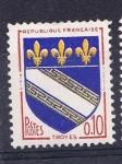 Sellos de Europa - Francia -  Heráldica: Troyes