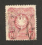 Stamps Europe - Germany -  38 - águila