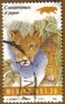 Stamps Mexico -  Jaguar