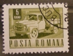 Stamps Romania -  camion