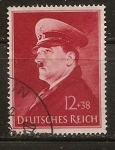 Stamps Germany -  52 aniversario hitler
