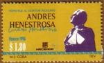 Sellos de America - México -  ANDRES HENESTROSA
