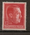 Stamps : Europe : Germany :  49 aniversario hitler