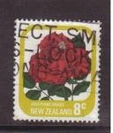 Sellos de Oceania - Nueva Zelanda -  serie- Rosas
