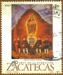 Stamps of the world : Mexico :  Fundacion ZACATECAS