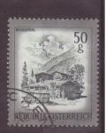Stamps Austria -  serie- zonas de austria