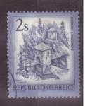 Sellos de Europa - Austria -  serie- zonas de austria