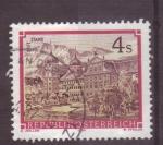 Stamps Austria -  serie- Monasterios de Austria