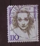 Sellos de Europa - Alemania -  serie- Mujeres de la historia alemana