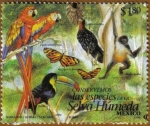 Stamps of the world : Mexico :  Selva Humeda