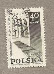 Sellos de Europa - Polonia -  Martirología Oswiecin