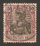 Stamps Germany -  militar