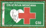 Stamps America - Mexico -  Cruz Roja Mexicana