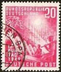 Sellos de Europa - Alemania -  DEUTSCHE BUNDESPOST - BUNDES TAG