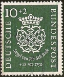 sellos de Europa - Alemania -  DEUTSCHE BUNDESPOST - SIEGEL VON JOB. SEB. BACH