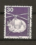 Stamps Germany -  Industria y Tecnologia.