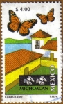 Stamps Mexico -  MICHOACAN - Lepidoptero