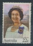 Sellos de Oceania - Australia -  Scott 740 - 54 Aniv. Reina Isabel II
