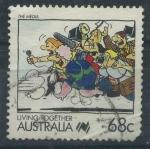 Sellos del Mundo : Oceania : Australia : Scott 1072 - Convivencia