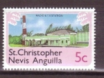 Stamps America - Saint Kitts and Nevis -  serie- Turismo