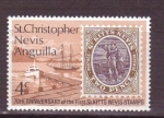 Stamps America - Saint Kitts and Nevis -  70 aniv. del sello