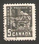 Stamps : America : Canada :  300 - VI congreso de minería y metalurgia en Vancouver
