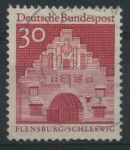 Sellos del Mundo : Europa : Alemania : Scott 941 - Nordertor, Flensburg