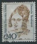 Sellos del Mundo : Europa : Alemania : Scott 1492 - Mujeres Celebres