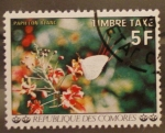 Stamps Africa - Comoros -  papillon blanc