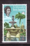 Stamps America - Saint Kitts and Nevis -  pall mall