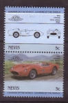 Stamps America - Saint Kitts and Nevis -  serie- Lideres del mundo