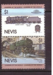 Stamps Saint Kitts and Nevis -  serie- lideres del mundo