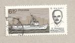 Sellos de Europa - Polonia -  Barco pesquero