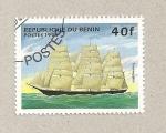 Stamps Benin -  Velero Temópilas