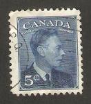 Sellos de America - Canadá -  240 - george VI