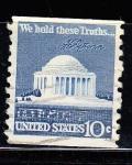 Sellos de America - Estados Unidos -  MONUMENTO A JEFFERSON