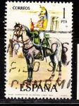 Sellos de Europa - España -  E2350 UNIFORMES MILITARES (127)