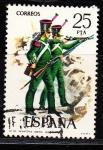 Sellos de Europa - España -  E2354 UNIFORMES MILITARES (128)