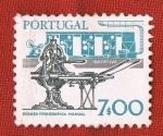 Stamps Europe - Portugal -  ROTATIVA - PRENSA TIPOGRAFICA MANUAL