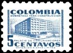 Stamps of the world : Colombia :  SEGUNDO SELLO MAS PEQUEÑO DEL MUNDO