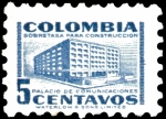 Sellos del Mundo : America : Colombia : SEGUNDO SELLO MAS PEQUEÑO DEL MUNDO