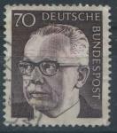 Sellos del Mundo : Europa : Alemania : Scott 1035 - Presidente Gustav Heinemann